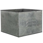 Zinc Metal Square Drawer PlanterNew by