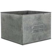 Zinc Metal Square Drawer PlanterNew by