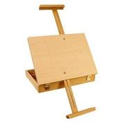 US Art Supply® Medium Wooden Box Artist Easel