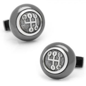 Ravi Ratan RR-804 Sterling Gear Shifter Cufflinks