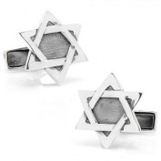 Ravi Ratan RR-802 Sterling Star Of David Cufflinks