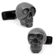 Ravi Ratan RR-150-MB Iron Black Skull Cufflinks