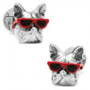 Ox and Bull OB-DOGSG-RD Party Animal Dog Cufflinks
