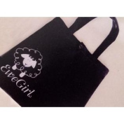 Ewe Girl A Brand Black And White Tote