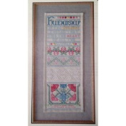 Golden Thread Counted Cross Stitch Sampler Kit