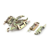 Office Window Hardware Left-hand Turn Spring Latches 10pcs