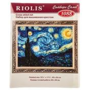 Starry Night Counted Cross Stitch Kit
