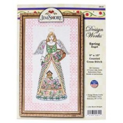 Jim Shore Spring Angel Counted Cross Stitch Kit