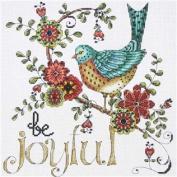 Be Joyful Counted Cross Stitch Kit