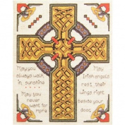 Celtic Cross Counted Cross Stitch Kit