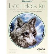 Snow Wolf Latch Hook Kit