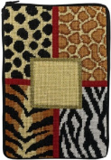 Electronic Book Cover - Animal Skins - Needlepoint Kit