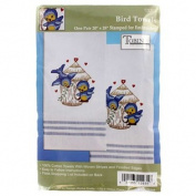 Bluebird Towel Needlework Kit