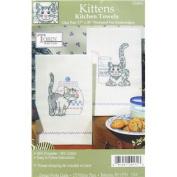 Kitten Towel Needlework Kit