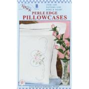 Rose & Heart Pillowcase Needlework Kit