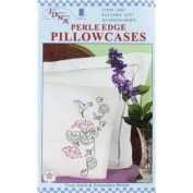 Hummingbird Pillowcase Needlework Kit