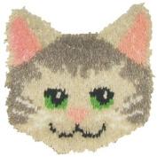 Kitty Pillow Latch Hook Kit