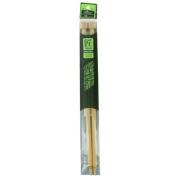 Size-15 Bamboo Single Point Knitting Needles