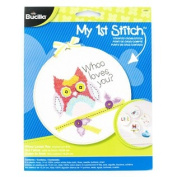 Whoo Loves You Cross Stitch Kit