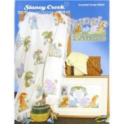 Jungle Babies Cross Stitch Book