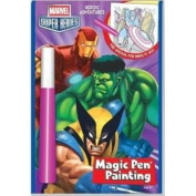 Marvel Super Heroes Heroic Adventures Invisible Ink Book