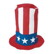 US TOY H161 Patriotic Stove Pipe Hat