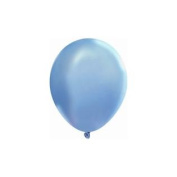 Balloons and Weights 2171 9 & quot; Sky Blue Latex Balloons 144 pc pak of 5
