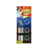 Wholesale Set of 24, Birthday Candle Set With Holders