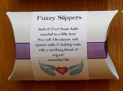 Deep Breath Designs Handmade Bath & Foot Soak Salts, Fuzzy Slippers