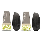 Thann Rice Grain Soap Bar with Charcoal and Rice Scrub 100 g x 2 pcs. Free Coin Purse 1 pcs.