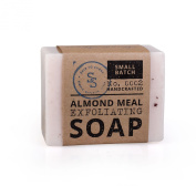 Ship to Shore Almond Meal Exfoliating Soap Bar, 130ml - Cleanse and Exfoliate - 100% Vegetable Glycerin