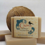 Crows 150ml Chai Green Tea Soap Bar Handcrafted with Bees Wax and Essential Oils Used in Each Giving Unique Characteristics and Properties Enhancing the Soaps with the Benefits of Aromatherapy.