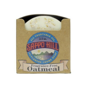 Glycerine Creme Soap - Natural Oatmeal Fragrance Free, 12 Units / 100ml ( Value Bulk Multi-pack) by Sappo Hill