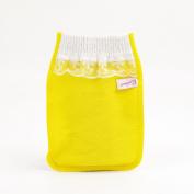 Body-scrub Glove (mitten Type) By Koreatrends (Yellow Glove