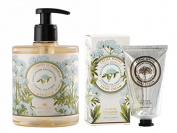 PANIER DES SENS Sea Fennel Liquid Marseille Soap and Hand Cream Set