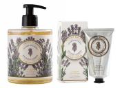 PANIER DES SENS Lavender Liquid Marseille Soap and Hand Cream Set