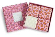 Vera Bradley Macaroon Rose Set of 4 Soap Gift Set