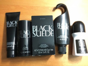 AVON BLACK SUEDE 5 PIECE SET