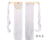 Lola Hair Straight Wrap Around Ponytail Extension for Woman Synthetic Hair 120g-130g