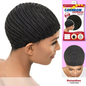 Vivica A Fox Hair Collection Cornrow Express Cap, Horse Shoe Type with Silicone, 1B, Medium, 60ml