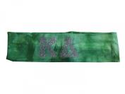 Kappa Delta Sorority Green Silver Tie Dye Stretch Hair Band Headband Little Gift