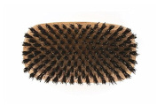 R.S. STEIN Military Style Square Hairbrush 100% FIRM Boar Bristle