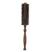 Pro Quill Bristle Radial Curling Hair Brush Massage Comb Round Wood Handle Salon Hairdressing Hairbrush Hair Styling Tools