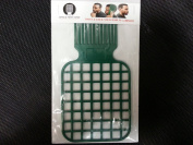 Afro & Twist Comb (Green)