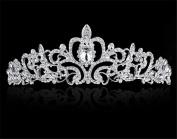 Meritina Shining Crystal Rhinestone Decorative Bride Hair Pin Hair Clip