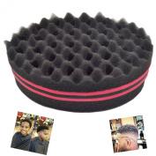 Denshine® Brush Sponge for Natural Hair Afro Curly Weave Dreads Sponge Magic Twist Hair