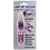 Led Light Up Tweezer-Fuchsia