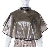 Waterproof Transparent Hair Cutting Perming Dye Gown Cape by Abcstore99