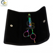 G.S PROFESSIONAL RAZOR EDGE TITANIUM BARBER HAIRDRESSING 29-TEETH THINNING SCISSOR/ SHEAR 14cm + FREE COVER