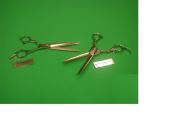 Yasaka 18cm Hair Cutting Shears and Matching Thinning Shears Combo Set Model